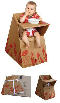 Sillita de cartón para bebés (Feedaway)