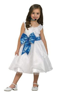 High School Musical 2 Deluxe Gabriella Kids Small by Rubies. $9.99. :. High School Musical 2 Deluxe Gabriella Kids Costumes are Hot Costumes! Pick this High School Musical Costume this Halloween, and you will definitely be the talk of the party!!   Includes white dress with attached blue bow.   Available in Kids Sizes Small, Medium and Large.   This costume is a officially licensed High School Musical 2 product.   Don�t want to go solo? Pair up with our kids Costumes.