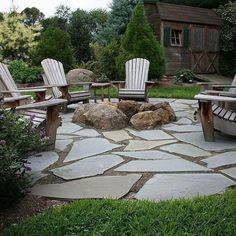 24 Outdoor Fire Pit Seating Design Ideas for Backyard Fire Pit Seating, Backyard Seating, Diy Fire Pit, Fire Pit Backyard, Backyard Patio, Fire Pits, Seating Areas, Stone Backyard, Patio Stone