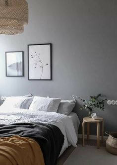 Home Interior Decoration Gray is the New Black. Get Inspired By These 100 Gray Bedroom Designs! Interior Decoration Gray is the New Black. Get Inspired By These 100 Gray Bedroom Designs! Gray Bedroom Walls, Grey Bedroom Design, Bedding Master Bedroom, Home Bedroom, Girls Bedroom, Bedroom Furniture, Bedroom Ideas, Neutral Bedrooms, Grey Walls