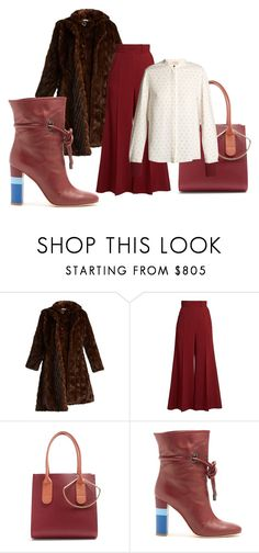 """""""The Rectangle - The Fashion Forward - Office Look"""" by melaniemorel on Polyvore featuring Vetements, Roksanda and Malone Souliers"""