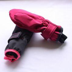 Prodloužené softshellové rukavice (fotonávod + střih)