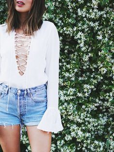 The Most Flattering Denim Shorts to Buy Now. #shopping