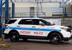 The police version of Ford's Explorer SUV has become the top-selling police vehicle among the crop of law enforcement vehicles competing to fill the void left by the retirement of the Crown Vic Police Interceptor. Chicago Police Officer, Ford Police, Police Cars, Police Vehicles, Police Patrol, Radios, 4x4, Police Life, Chicago Pd