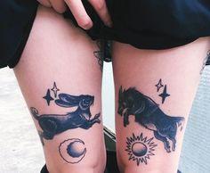 Tatuagens inspiradoras: Flores e bichos. | Overdose V.I.P | por Bárbara Thamíres