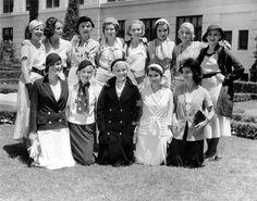 1931 WAMPAS Baby Stars  ---  Joan Blondell, Constance Cummings, Frances Dade, Frances Dee, Sidney Fox, Rochelle Hudson, Anita Louise, Joan Marsh, Marian Marsh, Karen Morley, Marion Shilling, Barbara Weeks, Judith Wood
