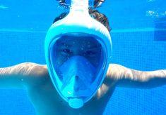 Tribord Easybreath Snorkel Mask #GiftIdeas #UnusualGifts #UniqueGifts #BestGiftIdeas #CoolGiftIdeas #ThingsIDesire