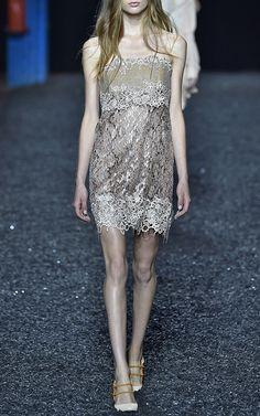 MARY KATRANTZOU Sapaneg Dress In Nude