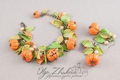 Jewelry handmade from polymer clay by Olga Zhukova - ego-alterego.com