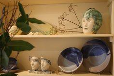 Handmade ceramic art in our shop based in Dordrecht, The Netherlands www.kleienzij.nl