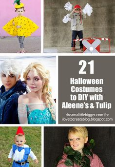 21 Costumes to DIY with Tulip and Aleene's!