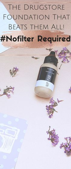 Makeup Products - Foundation review of the NIP+FAB foundation that promises Selfie Ready skin No filter No photoshop required! And it DELIVERS!!!