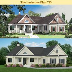 A new rendering for The Larkspur plan 715. #WeDesignDreams #DonGardnerArchitects