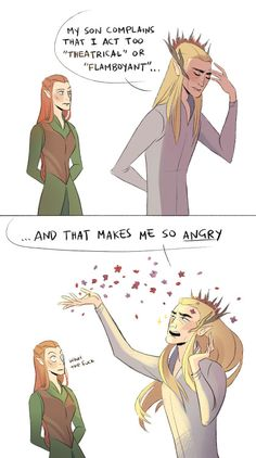The Hobbit Memes. Legolas And Thranduil, Tauriel, Lotr, Fandoms, Sherlock, O Hobbit, Hobbit Funny, Hobbit Art, Into The West