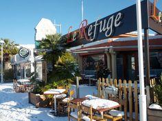 Le Refuge sous la neige le 17-01-2013