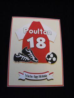 Cricut Soccer Cartridge - shirt card | Cricut | Pinterest