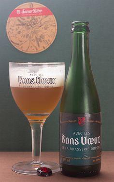 """Avec les Bons Vœux de la brasserie Dupont - Avec les Bons Vœux de la brasserie Dupont (Belgique) -  grâce à """"Box découverte Saveur-Biere.com"""" #SaveurBox"""