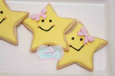star cookies twinkle twinkle little star cookies http://www.facebook.com/sweetcravingstoronto
