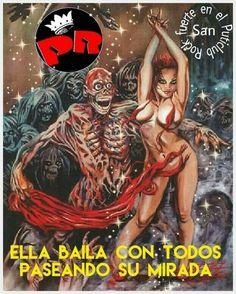 Rock Y Metal, India, Rock And Roll, Comic Books, Comics, Movie Posters, Rey, Skulls, October