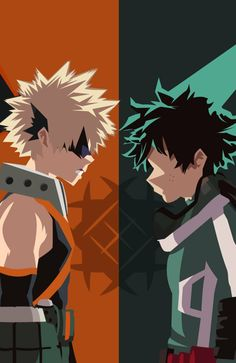 Deku and Bakugou Anime Wallpaper Phone, Cool Anime Wallpapers, Hero Wallpaper, Animes Wallpapers, My Hero Academia Episodes, Hero Academia Characters, My Hero Academia Manga, Wallpaper Bonitos, Deku Anime