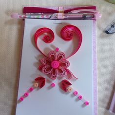 Bloknote Quilling