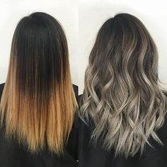 Before and After  Rooty ombré  With the help of @olaplex  Used all @fanola_usa