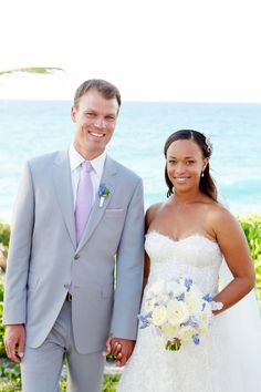 Paige Johnson, daughter of BET co-founders, weds Dudley Payne in the Bahamas