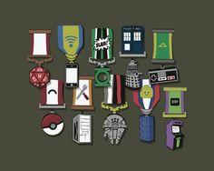 Geek Medals of Honour. Brilliant! #autism #aspergers