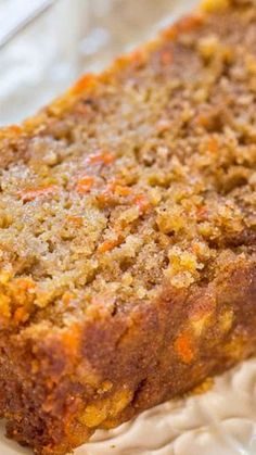 Low Unwanted Fat Cooking For Weightloss Carrot Apple Bread - Carrot Cake With Apples Added And Baked As A Bread So It's Healthier Super Moist, Packed With Flavor, Fast And Easy Bread Cake, Dessert Bread, Carrot Cake Bread, Carrot Cakes, Carrot Bread Recipe Moist, Carrot Cake Muffins, Carrot Loaf, Simple Carrot Cake Recipe, Honey Muffins Recipe