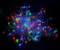 coresm Art mehrfarben 10m 100LED String Guirlande lumineuse pour sapin de Noël fête mariage Festival avec adaptateur UE