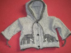 L'enfant d'éléphant - Le sweat à capuche pattern by La Droguerie