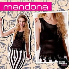 ¡Llegó el viernes! ¡Animate a lucir este look de Mandona Tienda! www.dondecomprarmejor.com/mandona