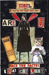 Artist Trading Card Idea/Inspirtion. LOL! Love this humor ATC!!! :)