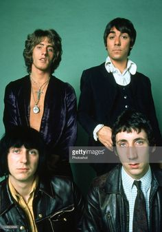 Portrait of The Who photographed in the late Credit: Photoshot John Entwistle, Roger Daltrey, Boogie Woogie, British Rock, British Invasion, Music Memes, Best Rock, Rock Legends, Cd Album