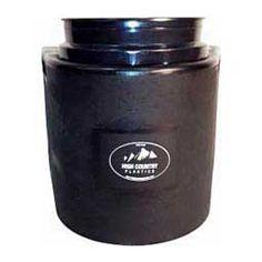Black Insulated Bucket Holder