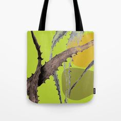 Cactus leaf Abstract Green Tote Bag by amandadhay Cactus Leaves, Buy Cactus, Green Bag, Reusable Tote Bags, Abstract, Store, Artwork, Summary, Work Of Art