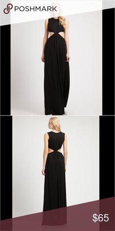 Clayton cut out maxi dress Worn a few times. Perfect condition Clayton Dresses Maxi