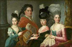 Family portrait by Anonymous Painter, 1780s (PD-art/old), Muzeum Narodowe w Warszawie (MNW)