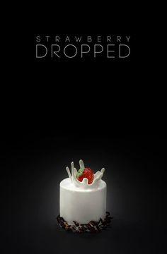 """Strawberry Dropped"" Pâtisserie-Chocolaterie by POP https://www.facebook.com/popchocolatier"