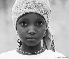 Nigeria  Fulani Girl.  ©Irene Becker