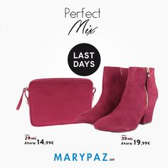 Consigue el ansiado Perfect Mix con MARYPAZ <3 <3 <3 ►►► LAST DAYS FROM 5,99 € Aprovéchate de los ÚLTIMOS DÍAS de MARYPAZ desde 5,99 € en muchos de nuestros artículos en TIENDA y ONLINE www.marypaz.com #perfectmix   Compra ya en www.marypaz.com