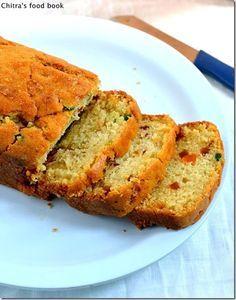Eggless,butterless,super soft n spongy tutti frutti cake recipe -Perfect for Christmas celebration !