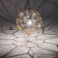 40cm-or-65cm-Tom-Dixon-Etch-Web-Pendant-Lamp-Chandelier-Ceiling-Light-Hanging