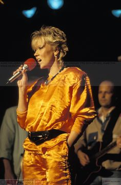 "Agnetha, 1983 ""The Heat Is On"""
