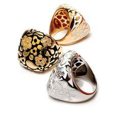 Subtly bold Lauren G Adams rings #fashion #rings