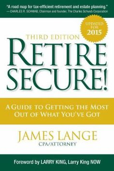 A comprehensive and easy-to-understand guide to maximizing the benefits of IRAs and retirement assets. Retire Secure Third Edition offers unbeatable recommendations for addressing the #1 fear facing most readers: Running out of money. Retire Secure Third Edition also shows baby boomers nearing retirement how they can save tens of thousands to over one million dollars by paying taxes later.