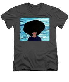 Alicia - Men's V-Neck T-Shirt