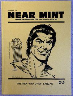NEAR MINT #20 Pop Culture Nostalgia Fanzine Burroughs TARZAN Hal Foster Burne Hogarth Rex Maxon Joe Kubert J Allen St. John Russ Manning