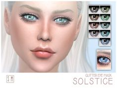 Screaming Mustard's [ Solstice ] - Glitter Eye Mask