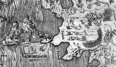 httpswww.facebook.comtheodoros.metallinosfref=photo  Αγνώστου, 1537, το Παλαιό Φρούριο της Κέρκυρας κατά την οθωμανική πολιορκία του 1537 [λεπτομέρεια χάρτη]. (Από τις ελάχιστες απεικονίσεις αυτής της